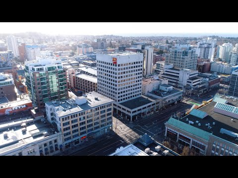 Victoria BC During Covid-19 Pandemic | Drone Video