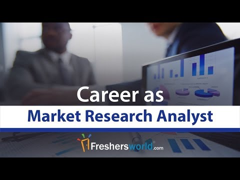 Market Research Analyst Career Profile - Job Description, Salary, MNC Job Role