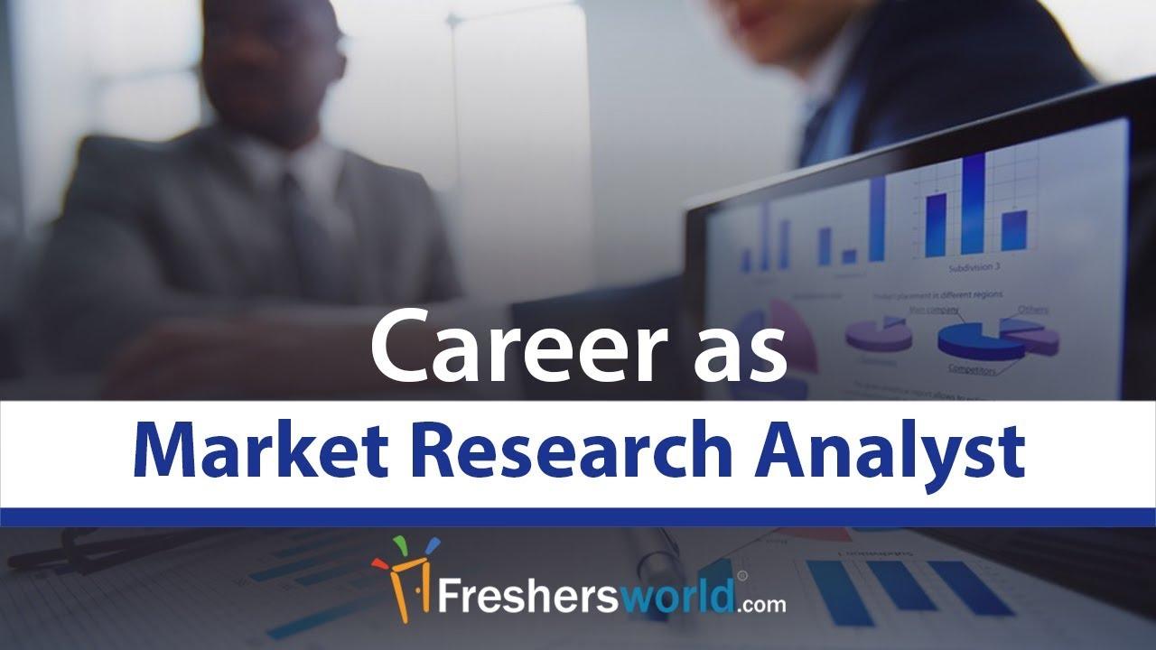 market research analyst career profile job description salary mnc job role