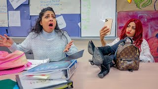 Getting In Trouble In High School! *GOOD STUDENT vs BAD STUDENT*