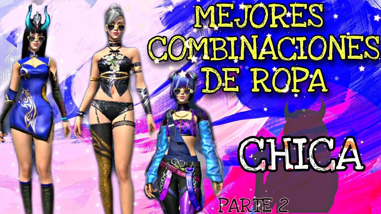 MEJORES COMBINACIONES DE ROPA / CHICA / PARTE 2 [FREE FIRE]