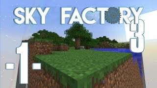 Sky Factory 3 på land - Ep. 1 - Vanilla terræn (HD)