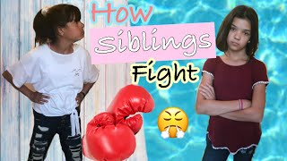 What SiBLiNGS ARGUE about!