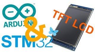 STM32, FSMC и Ардуино IDE. Подключаем TFT дисплей.