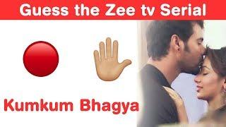 Zee TV Serials Emoji Challenge! Guess Hindi TV Series