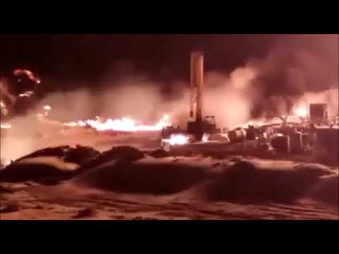 GAS BLOWOUT EGYPT عاجل