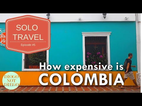 SOLO TRAVEL EPISODE #5 | How expensive is Colombia?