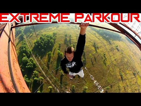 EXTREME PARKOUR On High Buildings (INSANE !)