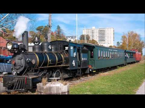 2 hours of train-steam whistle sound