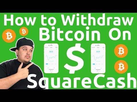How To Withdraw Bitcoin On Square Cash App March 2018