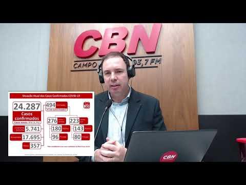 CBN Campo Grande (30/07/2020) - com Ginez Cesar