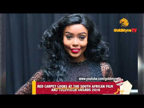 RED CARPET LOOKS AT THE SOUTH AFRICAN FILM AND TELEVISION AWARDS 2016
