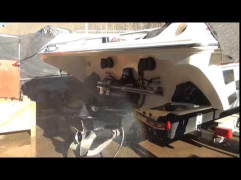 WHITE PERFORMANCE AND MACHINE BBC 540ci 676HP MARINE ENGINE IN BOAT