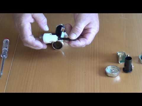 WC - Druckspüler ( Kolbenspüler ) Der Aufbau Und Die Funktion