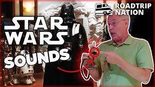 How sound designer Ben Burtt made Star Wars' iconic sound effects   Roadtrip Nation