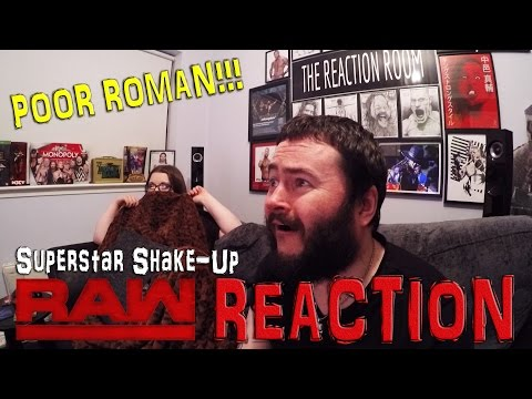 POOR ROMAN!!! WWE SUPERSTAR SHAKE-UP RAW REACTION 10TH APRIL 2017