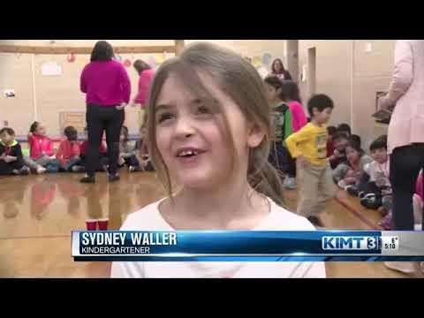 Woodson Kindergarten Center raises money for breast cancer research