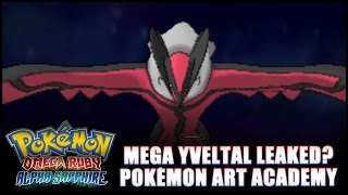 Pokémon Omega Ruby and Alpha Sapphire: News - Mega Yveltal? Official timeline! Gameplay soon!