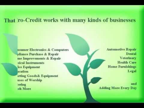 Micro Lending - Consumer Finance