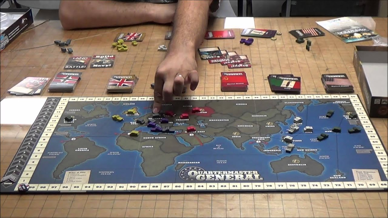 How to play QuarterMaster General! - YouTube