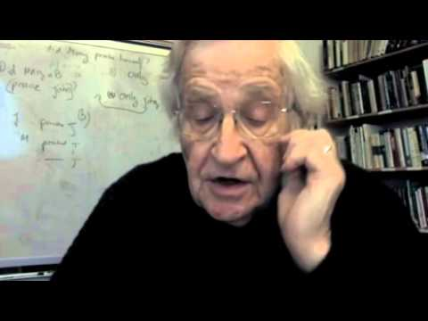 Noam Chomsky: Unconscious Mentality: Some Speculations