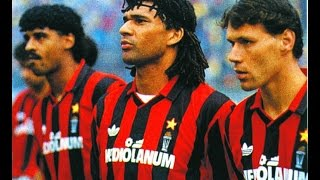 Ruud GULLIT + Van BASTEN Vs Lazio (1992) - Best Moments!