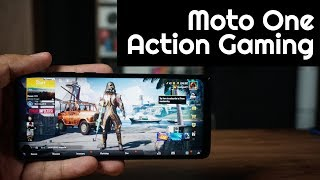 motorola Moto One Action Gaming Review, PUBG Mobile Performance, HDR and Smooth  Extreme, Heating
