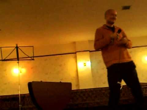The Doctor speaks at TruthJuice Hull June 2014