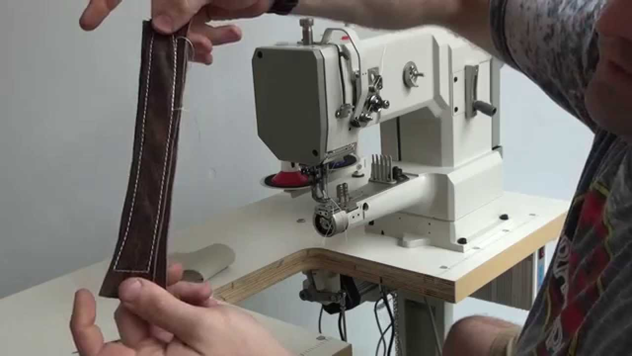 Small Cylinder Bed Sewing Machine With Horizontal Hook Pfaff 335 Type Youtube