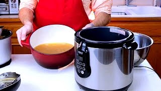 How To Make Homemade Chicken Stock (bone Broth) In An Electric Pressure Cooker