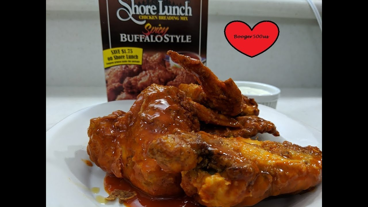 SPICY FRIED CHICKEN WINGS AIR FRYER LEM BATTER BOWL REVIEW