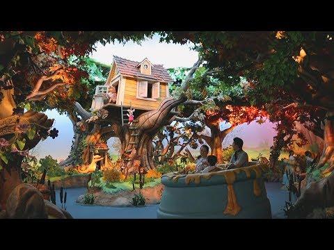 Tokyo Disneyland Pooh's Hunny Hunt POV | Pooh's Corner | Honey Popcorn | Front Row