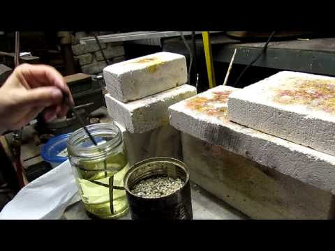 Making Punches for Chasing and Stamping Metal