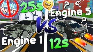 MOTOR LEVEL 5 vs MOTOR LEVEL 1 no MAD CITY do ROBLOX 😲 - Jailbreak 2