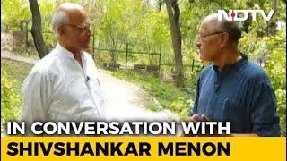 Walk The Talk With Shivshankar Menon