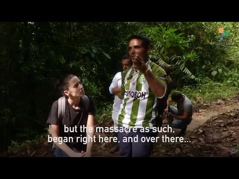 Abby Martin Reports on Trump Inspired Colombian Peasant Massacre