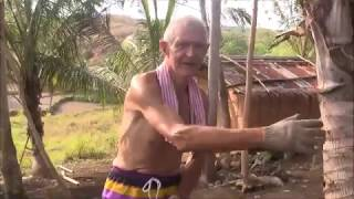 NANAY HELP ALFRED CLEANING THE FARM ? EXPAT LIVING IN PHILIPPINES