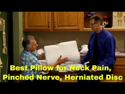 Best Type Of Pillow for Sleeping with Neck Pain, Pinched Nerve, or