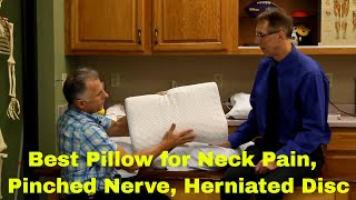 Best Type Of Pillow for Sleeping with Neck Pain, Pinched Nerve, or Herniated Disc