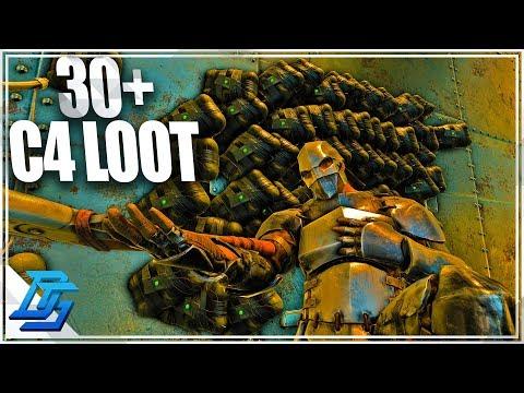 BEST LOOT RAID EVER, 30+ C4 LOOT! - Ark Survival Evolved - Ark Pvp Part 9 - Aberration
