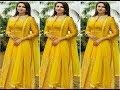 Top 20 Yellow colour party wear dresses ideas 2018