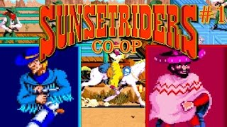 sunset riders megadrive et super nintendo