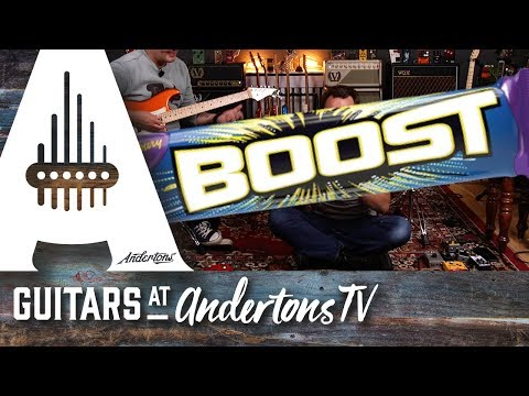 Top 5 Boost Pedal Shoot Out - The Full Selection Process!