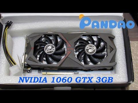 Купил видеокарту geforce 1060 gtx в пандао