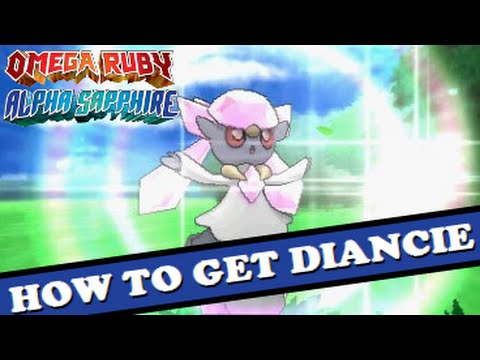 How To Get DIANCIE In Pokemon Omega Ruby & Alpha Sapphire ...