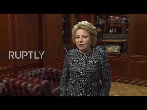 Russia: Matviyenko calls UK Skripal measures 'unscrupulous provocation'