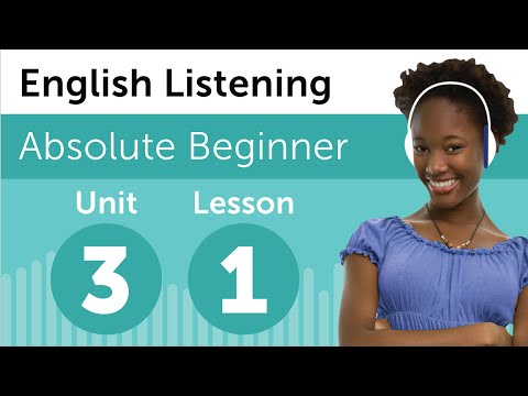 English Listening Comprehension - Getting Help from the Teacher in USA