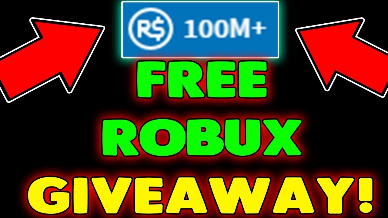 roblox robux giveaway 100m 1m enter gift cards code join luffy outfit