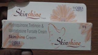 Skin Shine Cream | For Skin Whitening ? Review Hindi