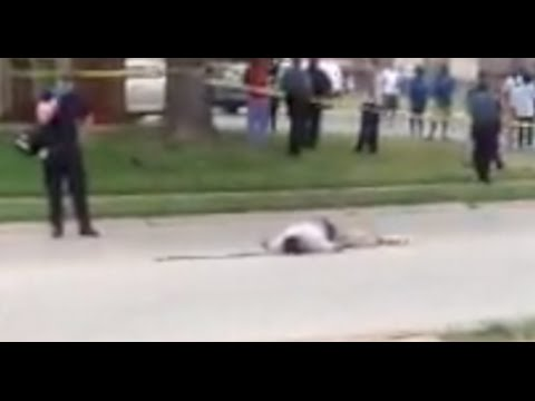 [Graphic] Exclusive Video of Michael Brown Immediately After Shooting